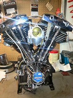 Custom Motorcycle Builders Pennsylvania, Harley Engine Rebuilding