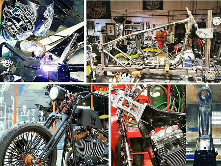 Harley Hardtail Motorcycle Frames, Harley hardtails are one of Iron Hawgs Specialties!